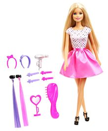 Barbie Playset With Doll Pink - 29 cm