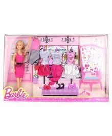 Barbie Fashion Doll With 3 Dresses - 28 cm