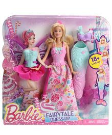 Barbie Fairytale Dress Up Pink - 28 cm