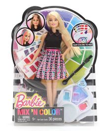 Barbie Mix N Color Spring Hair Doll - 28 cm
