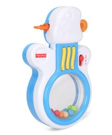 Fisher-Price Rock 'n Roll Guitar - Blue And White