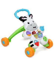 Fisher-Price Learn With Me Zebra Walker - White