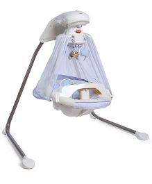 Fisher Price Starlight Papasan Cradle Swing - White