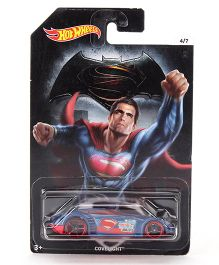 Hot Wheels Superman Bullet Car - Blue Red