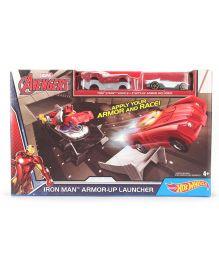 Hot Wheels Avengers Iron Man Armor Up Launcher