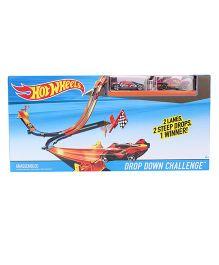 Hotwheels Drop Down Challenge Car - Red