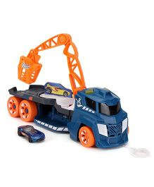 Hot Wheels Spinnin Sound Crane - Blue & Orange