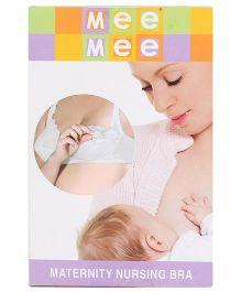 Mee Mee Maternity Nursing Bra - White