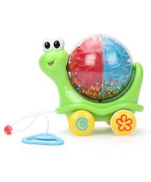 Hamleys Bloomy Pull Along Snail - Green