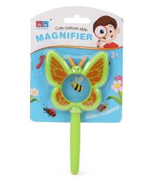 Hamleys Magnifier Glass With Handle Green - 14 cm