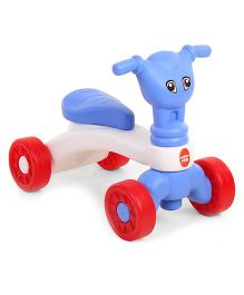 Hamleys Manual Push Ride On Blue White - 491232241