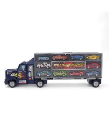 Hamleys Transporter Truck With 10 Cars