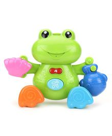 Hamleys Musical Frog Bath Toy - Green