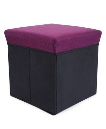 Square Shape Foldable Storage Box - Lavender