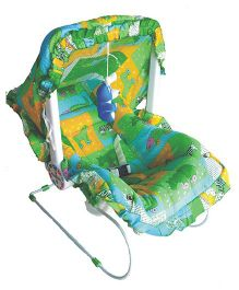 Funride 9 In 1 Carry Cot Animal Print - Green