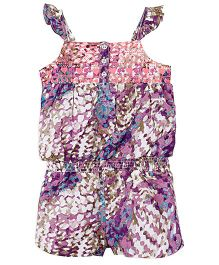 Barbie Singlet Jumpsuit - Pink and Purple