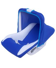 Funride 9 In 1 Carry Cot Flower Print - Blue