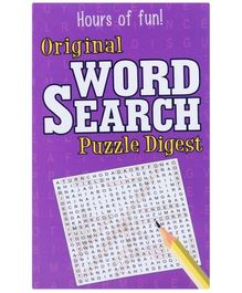 Original Word Search Puzzle Digest - Purple