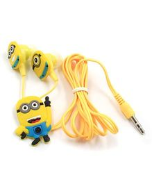 Kuhu Creation Cartoon Character Two Earphone