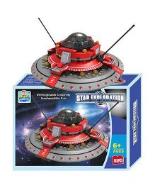Happykids Star Exploration Spaceship Building Blocks - 165 Pieces
