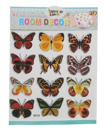 Happykids 3D Stickers Butterflies - Set of 12