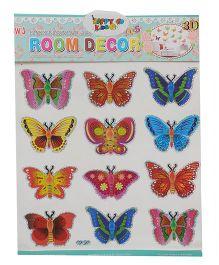 Happykids 3D Stickers - Butterflies