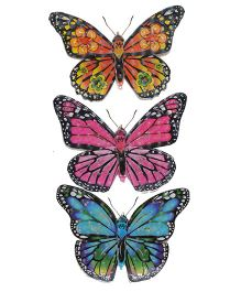 Happykids 3D Stickers Butterflies - Set of 3