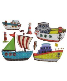 Happykids 3D Wall Stickers - Boats