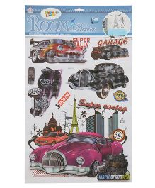 Happykids 3D Wall Stickers - Cars