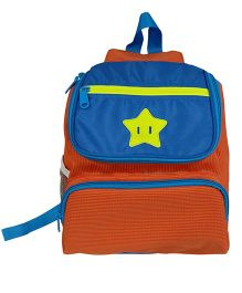 Star Gear Jelly Bagpack Orange And Blue - 13 Inches