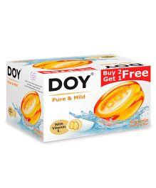 Doy Pure & Mild Glycerin Transparent Soap 125 gm - Pack Of 3