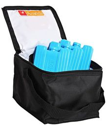Ameda Cool N Carry Milk Storage Bag Upto 120 ml Bottles - Black