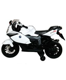 Toyhouse  BMW K1300S Bike 6V Rechargeable Battery Operated Ride On Bike - White