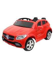 Toyhouse Stylish Super Car 6V Rechargeable Battery Operated Ride On - Red
