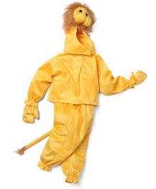IR Jumping Suits Lion Theme Costumes - Brown