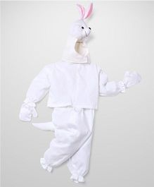 IR Jump Suits Rabbit Theme Costumes - White