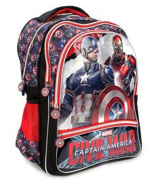 Marvel Captain America School Backpack Red - 18 inches