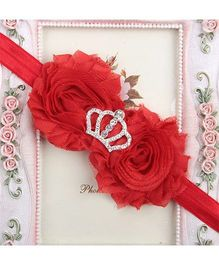 Pikaboo Headband Crown Applique - Red