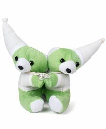 Curtain Holder Bear Soft Toy - Green