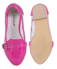 Cutecumber Party Wear Belly Shoes - Pink
