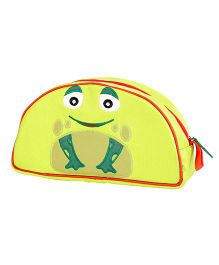 My Gift Booth Vanity Bag Frog Print - Green