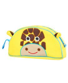 My Gift Booth Vanity Bag Giraffe Print - Yellow