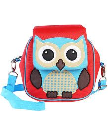 My Gift Booth Owl Design Sling Bag - Red