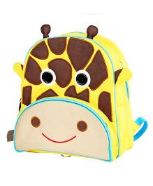 My Gift Booth Giraffe Design Sling Bag - Yellow And Brown