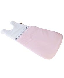 My Gift Booth Cow Design Sleeping Bag - White And Pink
