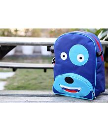 My Gift Booth School Bag Doggy Print - Blue