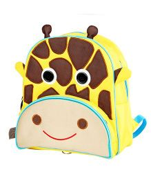 My Gift Booth School Bag Giraffe Print - Yellow And Brown