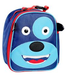 My Gift Booth Doggy Print Insulated Lunch Bag - Blue