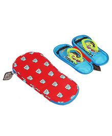 My Gift Booth Owl Print Slipper Organiser - Red