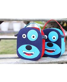 My Gift Booth Doggy Design Candy Bag Blue - Set Of 2
